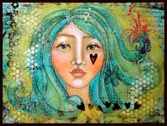 Art Journal page/Paulette Carr