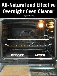 Natural Oven Cleaner Recipe