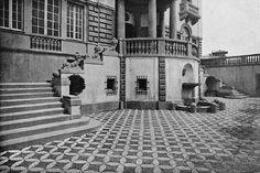 Francesco Fichera, Villa Inga dettaglio della facciata principale