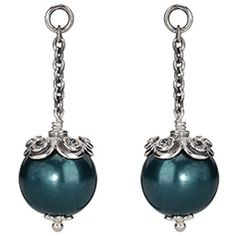 Authentic Pandora Earring Pandora Earrings, Pandora Jewelry, Pearl Earrings, Drop Earrings, Jewelry Companies, Treasure Chest, Fashion Jewelry, Teal, Miniatures