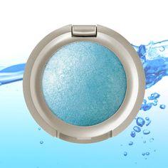 "#Artdeco Mineral Baked Eyeshadow No. 48 ""pastel blue ice"" #eyeshadow #blue #aqua #green #acqua #eyes #artdecocosmetics #artecomakeup"