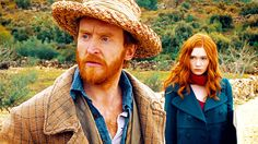 Amy Pond & Van Gogh; Vincent and the Doctor made me cry so hard.