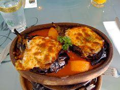hunkar begendi, cuisine turque, aubergines en purée à la béchamel, gratinées