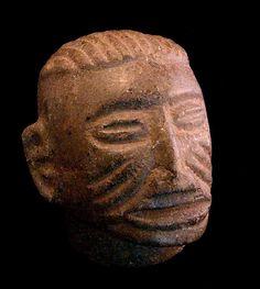 Atlantic Watershed Stone Trophy Head,500-1000 AC Costa Rica