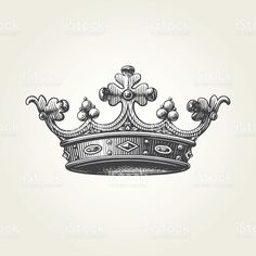 Find Hand Drawn Crown Vintage Engraved Illustration stock images in HD and millions of other royalty-free stock photos, illustrations and vectors in the Shutterstock collection. Flowers Illustration, Engraving Illustration, Graphic Illustration, Vector Illustrations, Free Vector Graphics, Free Vector Art, Mothers Day Drawings, Trick Or Treat Costume, Crown Images