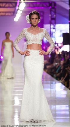 Vietnamese-American designer, Jacky Tai, sends his bridal collection of wedding ao dai's and wedding gowns down the catwalk at Viet Fashion Week Bridal Gowns, Wedding Gowns, Fashion Week 2016, Ao Dai, Bridal Collection, Catwalk, Runway, Photography, Style