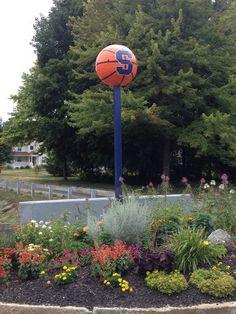 Syracuse Basketball birdhouse