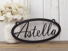 Metal Sign Wall Decor Delectable Rustic Family Sign  Family Name Sign  Metal Sign  Metal Wall Design Ideas
