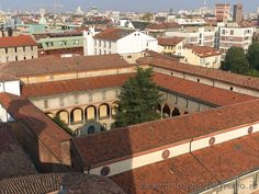 Milan (Italy): Museum of Science and Tecnology seen from top of the bell tower of the Basilica of San Vittore al Corpo