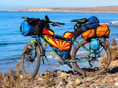 Bikepacking setup or classic Ortlieb panniers for your bicycle trip around the world? | Pushbikegirl - Solo female cycling around the world