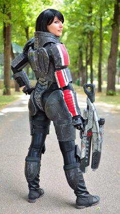 Commander Shepard by BlueBlackDiamond.deviantart.com #cosplay #gaming