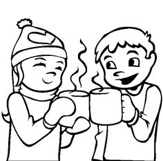 free printable #winter coloring pages for #preschoolers