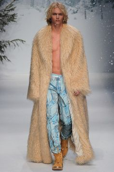 """Hansel. He's so hot right now. Hansel."" Moschino - Fall 2015 Menswear"