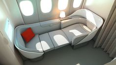 AIRFRANCE La Première by D'HOKER Julien, via Behance = Only way to fly