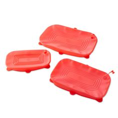 LOVE.  Rectangular+Stretch-Fit+Silicone+Lid+Set+-+The+Pampered+Chef®