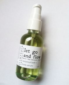 Image of let go + flow BATH & BODY serum