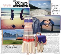 """""""Color Theory with Meredith Wendell"""" by piapia ❤ liked on Polyvore"""
