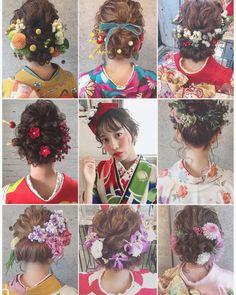 * * 1月8日 成人式 おめでとうございます㊗️ * * Brillantでは 2019年 成人式のご予約が 始まりました✨ お電話お待ちしております♀️ Hair salon Brillant ☎︎053-473-4003 * * #マリhair #浜松市 #成人式