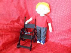 Bonecos inclusão social, diversidade, projeto escolar, cadeirante, deficiente visual, síndrome de down, negro.