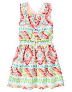 Brushstroke Dress at Gymboree (Gymboree 3-12y)