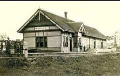 HESPELER, Ontario - Train Station