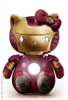 Hello IronKitty by yodaflicker, via Flickr Hello Kitty Collection By Joseph Senior