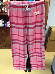 Come check out these warm & comfy pink TMC sweatpants! Pick yours up today at The More Store!