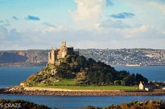 St Michaels Mount, Marazion, looking stunning in the sun in this photo posted by Si Craze.