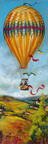 Air Balloon III Giclee Print by Georgie at Art.com