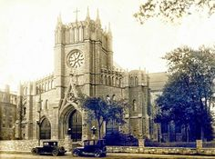 Our Lady of Perpetual Help Redemptorist Catholic Church at 3333 Broadway 1920's