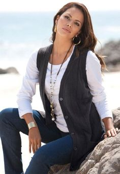 #National #Fine Gauge Sweater #Vest   good classic look   http://amzn.to/HqOS4X