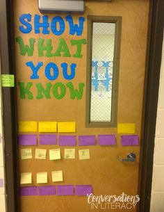 Show What You Know- Quick informal assessment of student learning!