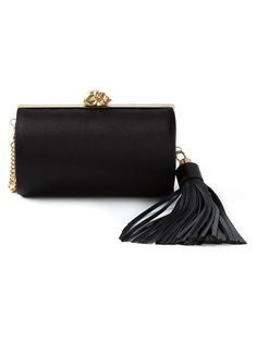 Shop Alexander McQueen skull tassel clutch in  from the world's best independent boutiques at farfetch.com. Over 1000 designers from 300 boutiques in one website.