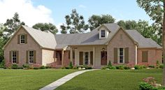 4 Bed French Country with Upstairs Expansion - 51726HZ | 1st Floor Master Suite, Acadian, Bonus Room, Butler Walk-in Pantry, CAD Available, Corner Lot, European, French Country, Metric, PDF, Split Bedrooms | Architectural Designs