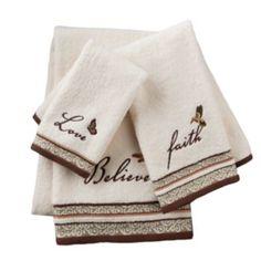Inspire Scroll Bath Towels; kohls