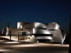 Bodegas Darien in Logroño (Rioja, Spain) designed by J. Marino Pascual #wine #architecture