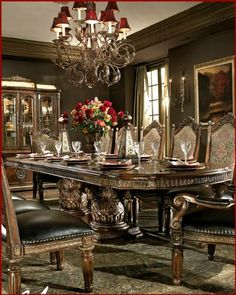 Victorian Dining Room | This beautifully crafted Victorian ...