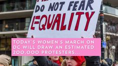 Watch this to see how people got ready for the Women's March on Washington.