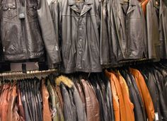 Leather jackets (generic image) / theidleman.com