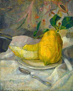 Paul Gauguin, Still life on ArtStack #paul-gauguin #art