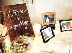 ごちゃごちゃ物を置きたくない!スッキリシンプルでおしゃれなお手本ウェルカムスペース集*   marry[マリー] Art Quotes, Weddings, Instagram, Party, Wedding, Parties, Marriage
