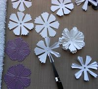 pretty flowers and other paper crafts