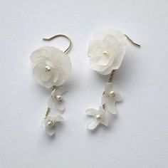 Papel C ユキドケ japanese paper(Washi) jewelry