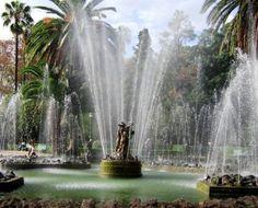 Giardino Inglese di Palermo (The beautiful English Garden in Palermo), Sicily.