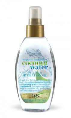 OGX COCONUT WATER HYDRATING OIL - VITA.NO
