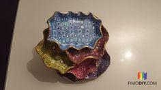 tutorial- polymer clay decorative jewelry dish