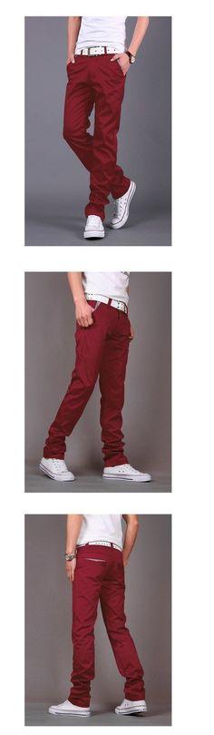 Skinny Pants Glorious Hot Men Slim Fit Trousers Casual Pencil Jogger Cargo Pants Men Urban Straight Leg Long Pencil Pants Pants Zip Pocket Trousers Soft And Antislippery Men's Clothing