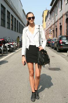 I want a white jacket