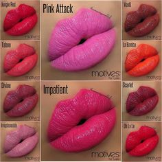 Lips Colours for Spring 2014