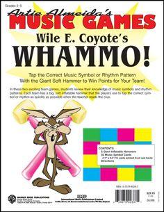 AlfredWile E. Coyote's WHAMMO!  Artie Almeida's Music Games